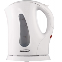Brentwood Cordless Electric Kettle BPA Free, 1 Liter, White