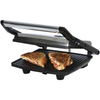 Brentwood Select TS-651 Compact Non-Stick Panini Press & Sandwich Maker, Stainless Steel
