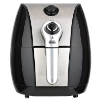 Brentwood Air Fryer 1500W 3.4-Quart Silver