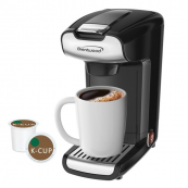 Brentwood TS-110BK K-Cup® Single Serve Coffee Maker Black
