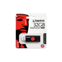 KINGSTON 32GB DT 106 BLK/RED
