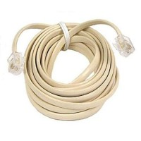 Belkin Pro Series Phone Cable - Rj-11 Male - Rj-11 Male - 12Ft - White