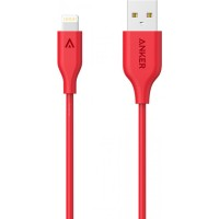 ANKER LIGHTNING CABLE 3FT RED