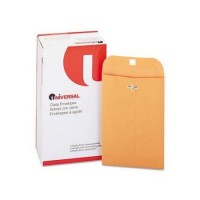 UNIVERSAL Kraft Clasp Envelope - 100/PACK
