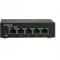 CISCO SG110D-05-NA 5 Port Ethernet Switch