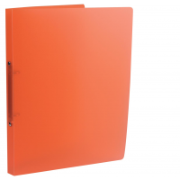 CLASS'EX RING BINDER A4 ORANGE CLEAR