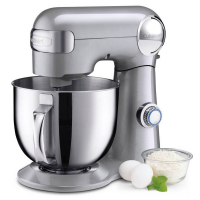 Cuisinart Precision Master 5.5 Quart Stand Mixer, Brushed Chrome