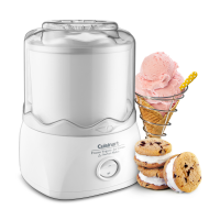 Cuisinart ICE-20 Automatic 1-1/2-Quart Ice Cream Maker - White