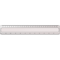 "12-inch ""FLEXIBLE"" Ruler -by Dacati"