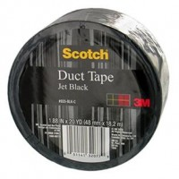 DUCK DUCT TAPE 1.88X20YD BLK