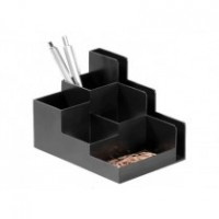 DURABLE DESK ORGANIZER OPTIMO - Black