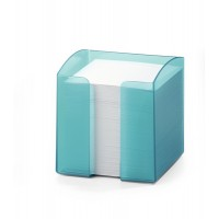 DURABLE NOTE BOX TRANSLUCENT - BLUE