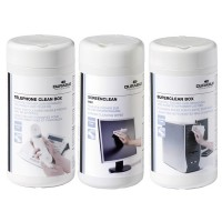 Durable Workstation Cleaning Wipes Screenclean Superclean 50 Wipes Ref 5787