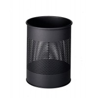 DURABLE Waste basket metal ANTHRACITE