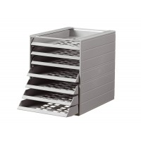DURABLE IDEALBOX BASIC 5 DRAWERS Grey