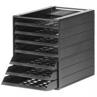 DURABLE IDEALBOX 7 Drawers - Charcoal