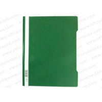 Durable Clear View Folder - Green