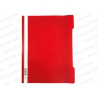 Durable Clear View Folder - Red