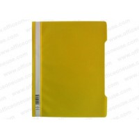 Durable Clear View Folder - Yellow