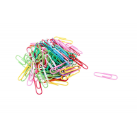 DACATI PAPERCLIP VINYL ASSORTED COLORS 100X