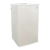 Daewoo 3.2 Cu. Ft. Refrigerators White