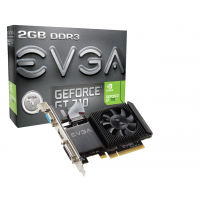 EVGA GeForce GT 710 2GB (Single Slot - Low Profile)