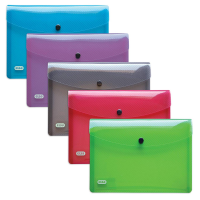 ELBA HAWAI DOCUMENT HOLDER A5 ASSORTED 5X