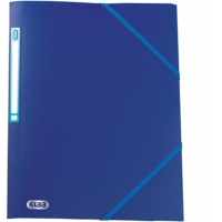 ELBA MEMPHIS EXPANSION FOLDER A4 PLASTIC BLUE