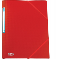 ELBA MEMPHIS EXPANSION FOLDER A4 PLASTIC RED