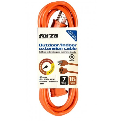 FORZA 22FT EXTENDER POWER CORD 7M