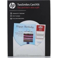 HP TWOSMILES CARD KIT - 10 COUNT
