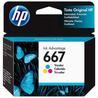HP Ink Advantage Ink Cartridge 667 Color 2ml