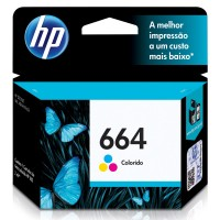 HP 664 INK CARTRIDGE TRI-COLOR (F6V28AL)