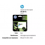 HP Cart 964XL Cyan