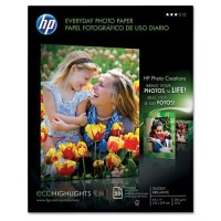 HP Premium Plus Photo Paper, Glossy, 50 Sheets/Pack