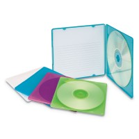 Innovera IVR81910 Slim CD Case Holds One CD; Polypropylene; 10 per Pack