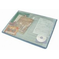 JALEMA AVANTI POCKET FILE A4 TRANSPARENT