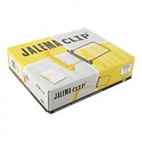 Jalema Clip Yellow / White 100 Pieces