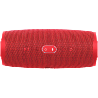 JBL - Charge 4 Portable Bluetooth Speaker - Fiesta Red