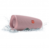JBL - Charge 4 Portable Bluetooth Speaker - Dusty Pink