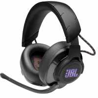 JBL - Quantum 600 RGB Wireless DTS Headphone:X v2.0 Gaming Headset for PC, PS4, Xbox One, Nintendo Switch and Mobile Devices - Black