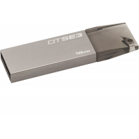 Kingston KC-U6816-4C1X USB Flash Drive 16GB, USB 2.0, DTSE3, Metallic Gray