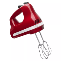 KitchenAid - KHM512ER 5-Speed Hand Mixer - Empire Red