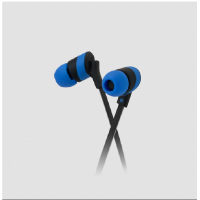 Klip Xtreme KHS-625 Kolor Budz Earphones Black/Blue