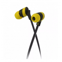 KlipX KolorBudz KHS-625 Headset Black/Yellow