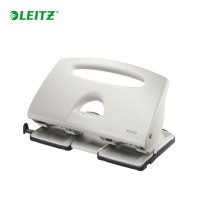 LEITZ PUNCH 4 HOLE  40 SHEETS SILVER