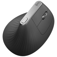 Logitech MX Vertical Wireless Optical Mouse - Black