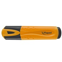 MAPED OVERLIJNER ORANGE x12