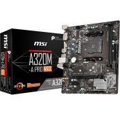 MSI Motherboard A320M-A Pro Max AM4 Socket
