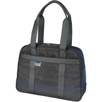 Microsoft MT Ladies Tote for 15.6-Inch Laptops (Blue Trim)